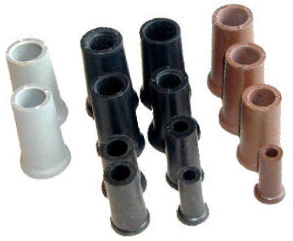 Krückenkapsel schwarz (8 – 22 mm) 1