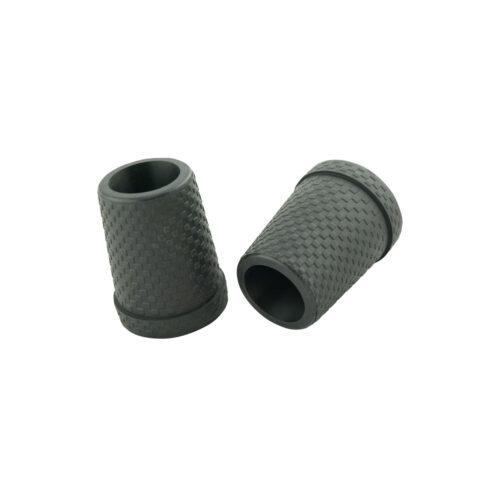 Ersatzkapsel für Carbonstöcke mit Stahleinlage