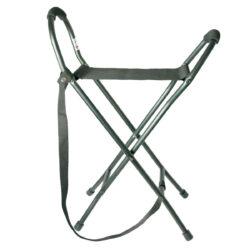 Jagd- und Sitzstöcke Klappsitz Leichtmetall schwarz Nylonsitz s