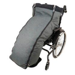 Schlupfsack Rollstuhl aqua