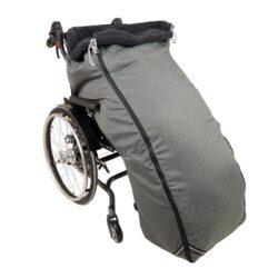 Schlupfsack Rollstuhl lime